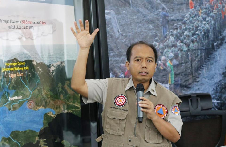 Dr. Sutopo was respected for informing Indonesians about the country's natural calamities.