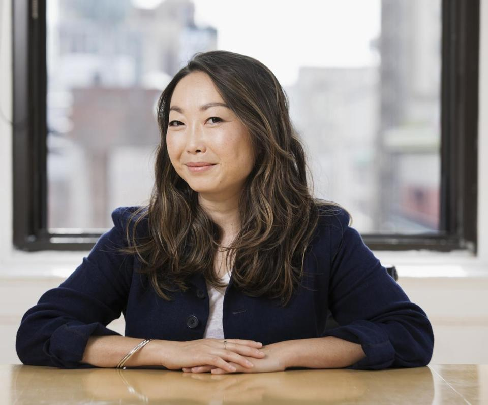 "Lulu Wang, pictured in New York while promoting her film ""The Farewell."""