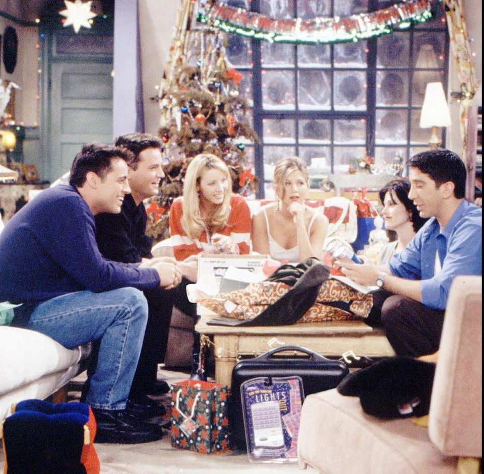 The 'Friends' gang celebrated Christmas in the episode 'The One with Phoebe's Dad.""