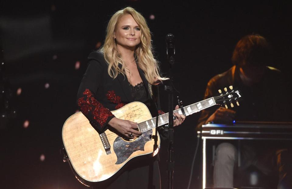 FILE - This April 15, 2018 file photo shows Miranda Lambert performing at the 53rd annual Academy of Country Music Awards in Las Vegas. Lambert was nominated for three CMT Music Awards on Tuesday, May 7, 2019. (Photo by Chris Pizzello/Invision/AP, File)