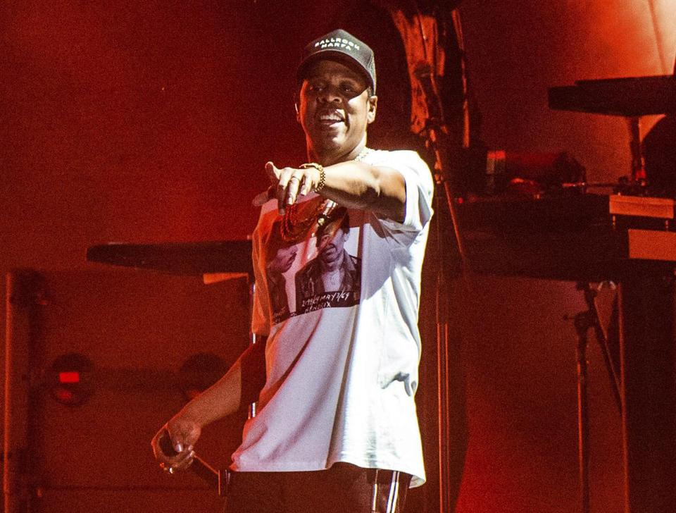FILE - In this Oct. 13, 2017, file photo, Jay-Z performs at the Austin City Limits Music Festival in Austin, Texas. Jay-Z is heading into the marijuana industry as a chief brand strategist for a cannabis product company. He said in a statement Tuesday, July 9, 2019, that he entered a multi-year deal with San Jose, California-based Caliva. His role will consist of driving creative direction, outreach efforts and strategy for the brand. (Photo by Amy Harris/Invision/AP, File)