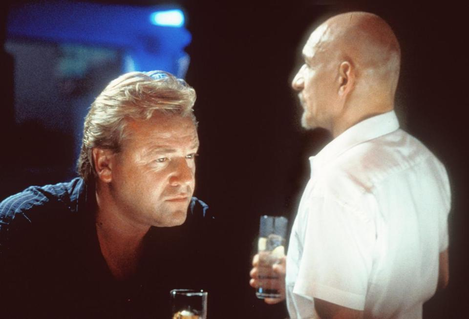 "Ray Winstone as Gal Love in the 2000 film ""Sexy Beast,"" which also starred Ben Kingsley (right). Paramount Network is creating a series that will tell the origin story of Gal Love."