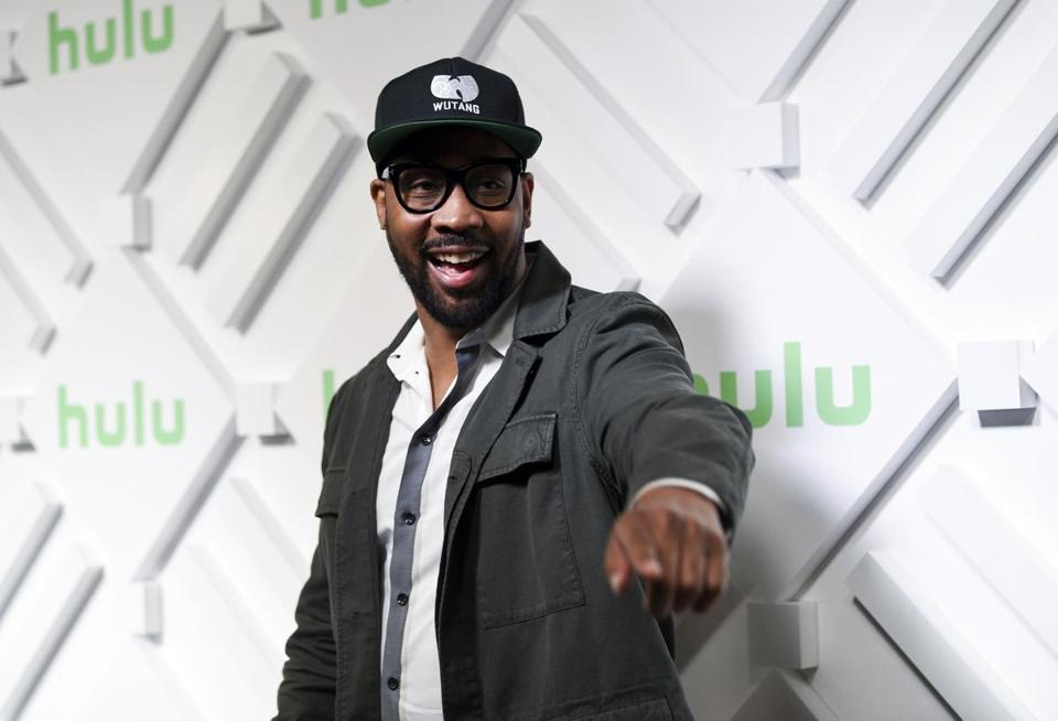 Executive producer RZA attends the Hulu 2019 upfront presentation afterparty at Scarpetta at The James New York on Wednesday, May 1, 2019, in New York. (Photo by Evan Agostini/Invision/AP)