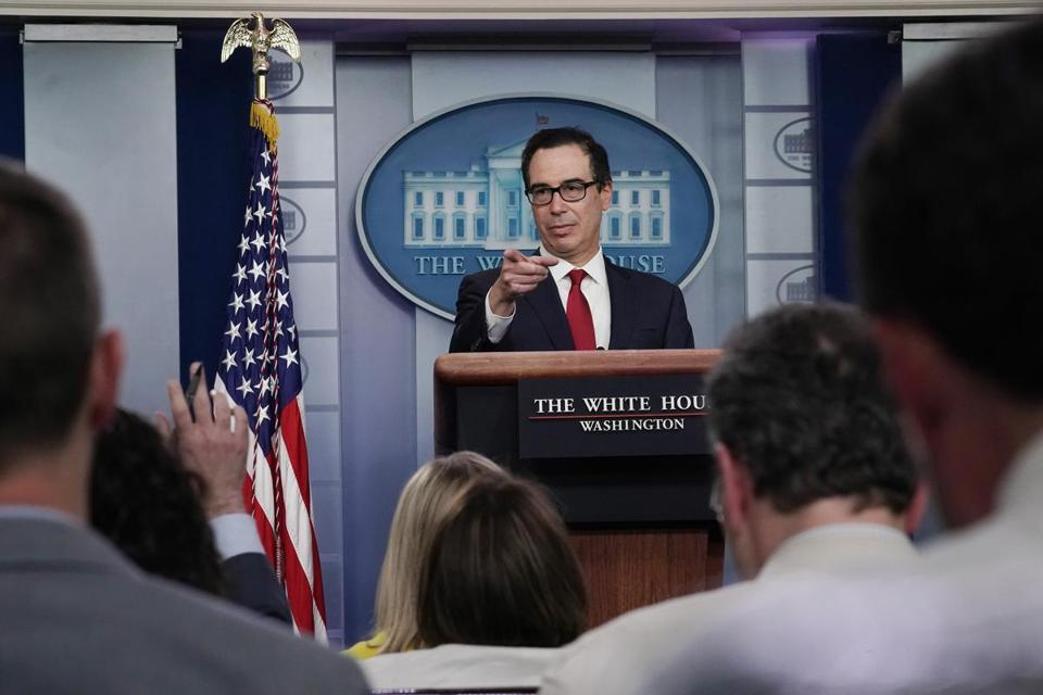 Treasury Secretary Steven Mnuchin is urging lawmakers to address the debt ceiling before they go on recess.