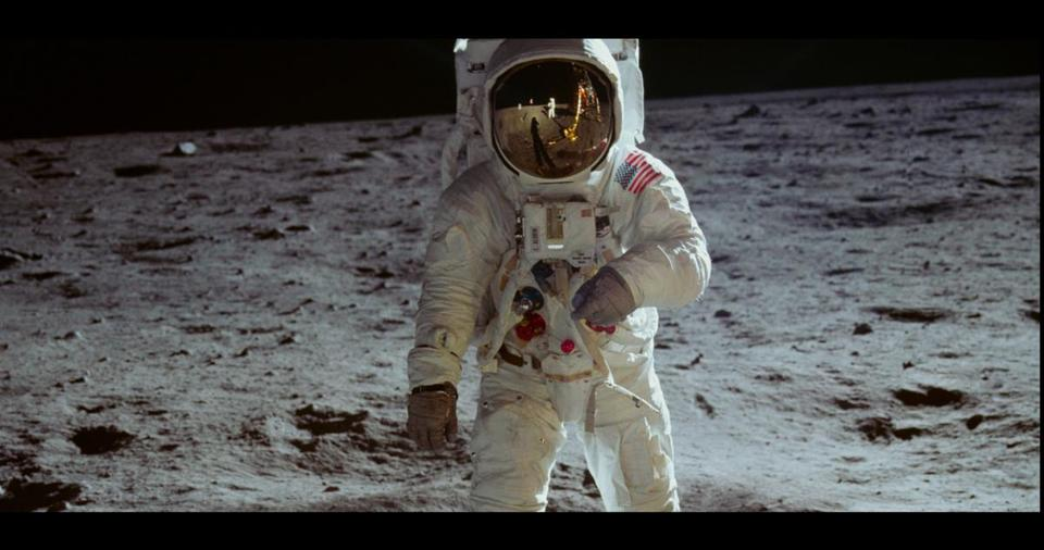 "A scene from the documentary ""Apollo 11."""
