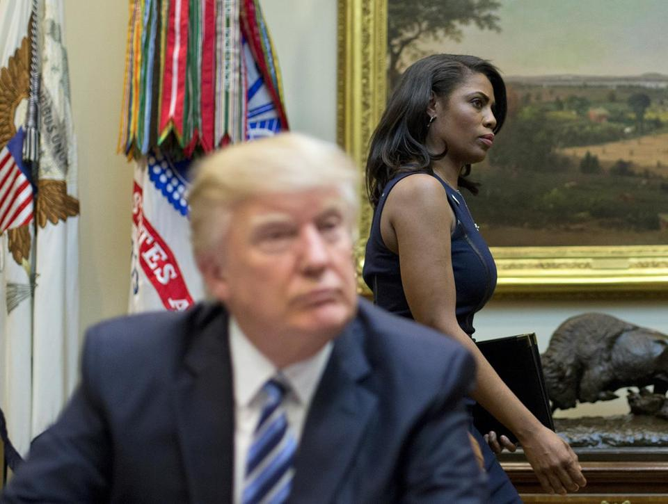 "Former ""Apprentice"" co-star Omarosa Manigault Newman accused President Trump of ""trying to start a race war in this country."""