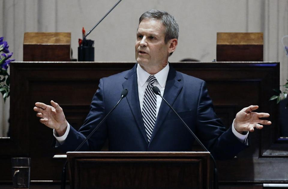 In May, Tennessee Governor Bill Lee, a Republican, signed a bill that amended state law to prevent ministers ordained online from solemnizing weddings, starting July 1.