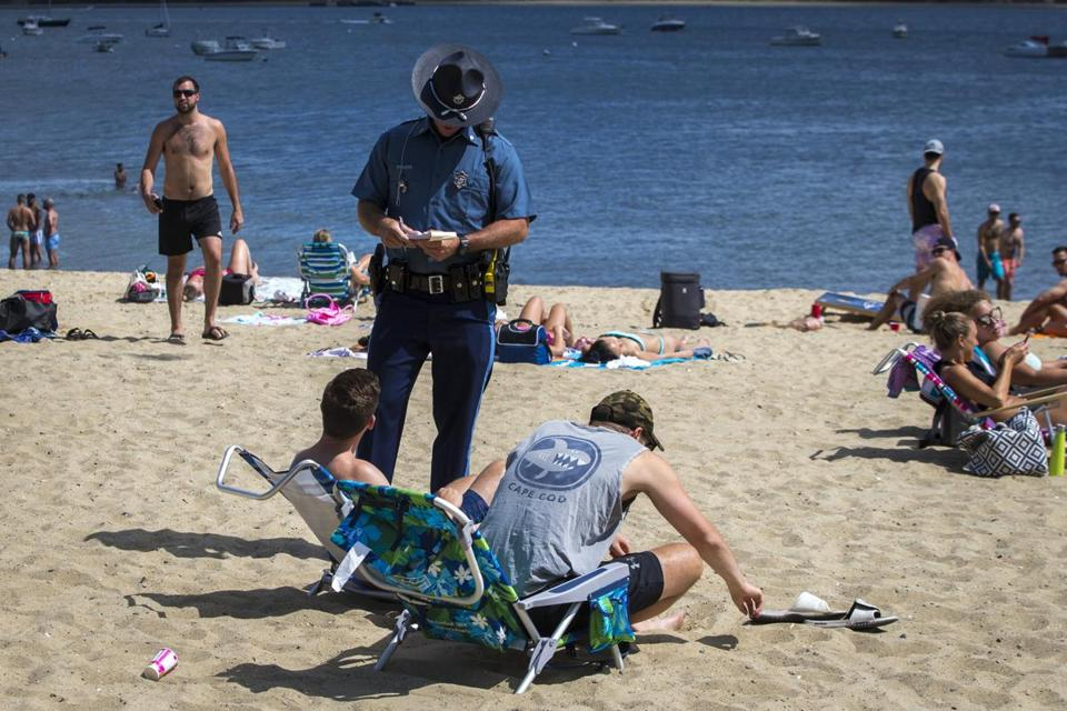 As South Boston's population gets younger, older residents have complained about a fraternity atmosphere at the beach.