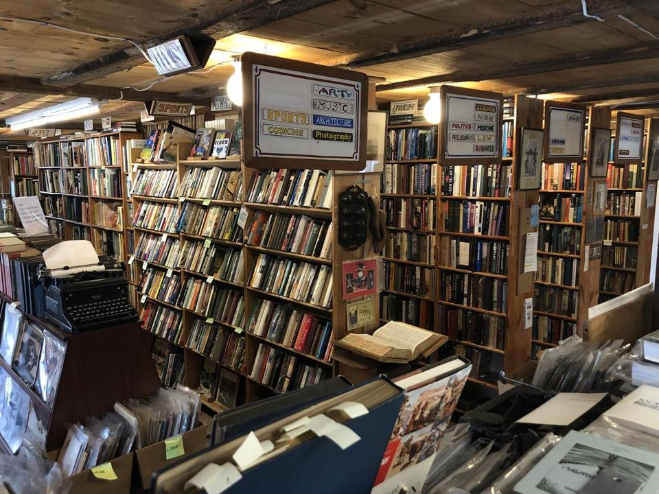 The Avenue Victor Hugo bookstore has reopened in a barn in Lee, N.H.