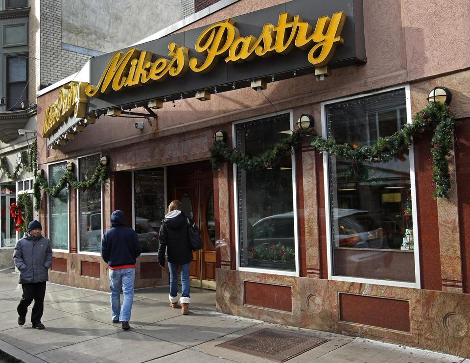 Mike's Pastry in the North Endm as pictured in 2012.