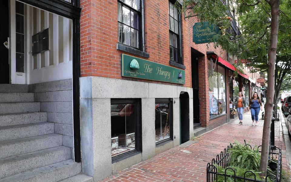 Chef-owner Peter Ballarin has closed The Hungry I restaurant on Beacon Hill after 38 years. It was long known as one of Boston's most romantic restaurants. The sale of the building was completed Monday.