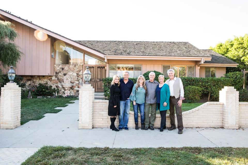 "The actors who played the kids on ""The Brady Bunch"" helped renovate the split-level residence that served as the exterior of the Bradys' home."