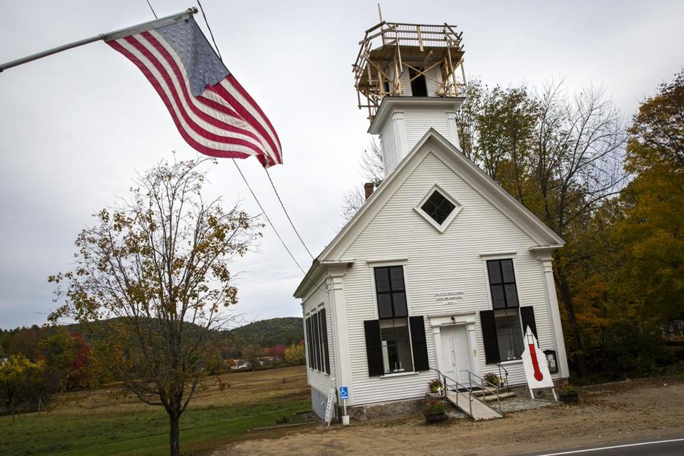 The Little White Church has raised $152,000 for its reconstruction fund, enough to pay for a new steeple. The Eaton, N.H., church is hoping to raise another $30,000 to finance unanticipated repairs.