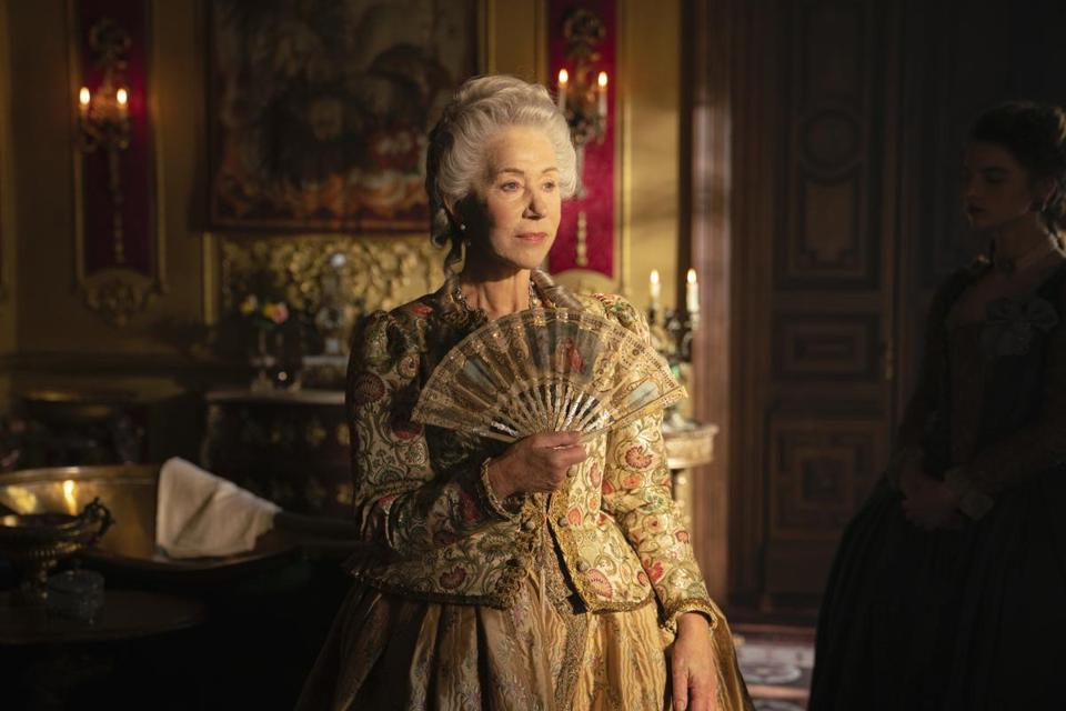 "Helen Mirren in ""Catherine the Great,"" the latest HBO series to premiere on a Monday."
