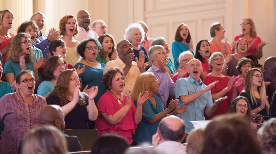 Joyful Voices of Inspiration, a gospel choir, will perform in Weymouth on Sunday, Nov. 10.