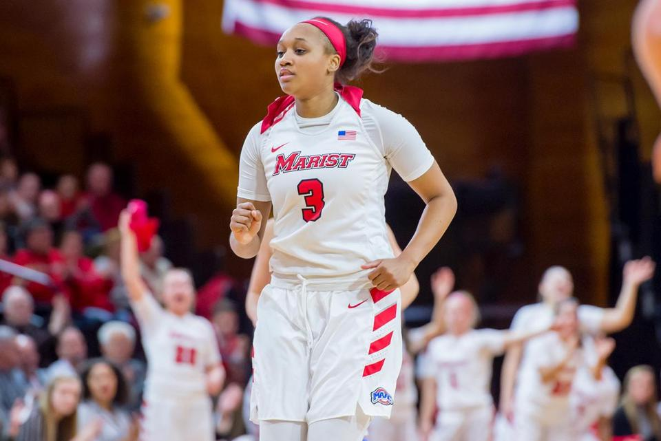 Alana Gilmer is averaging 14.7 points per game for the Red Foxes (5-1).