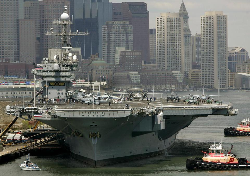 The original carrier named for John F. Kennedy served for nearly 40 years before it was decommissioned.
