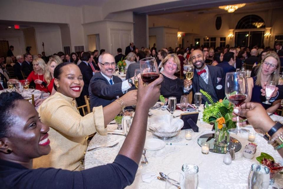 Supporters of the Saint Rock Haiti Foundation attended last year's gala in Quincy. The 2020 fund-raising event will take place at the Granite Links Golf Club in Quincy on Thursday, Feb. 27.