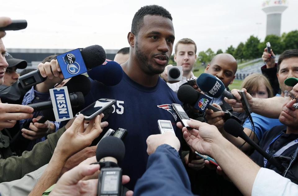 As a coverage linebacker, James Anderson seemed like a safe bet to make the Patriots' roster.