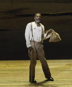 Norm Lewis as Porgy.