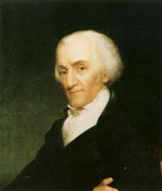 A portrait of Governor Elbridge Gerry.