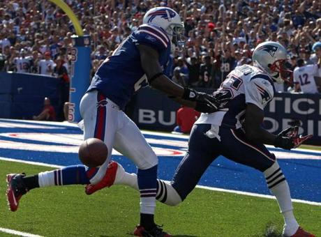 Chad Ochocinco dropped what appeared to be a sure touchdown in the Week 3 loss at Buffalo.