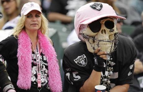 But Raiders fans left disappointed as their team fell to 2-2.
