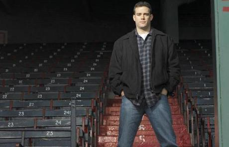 Theo Epstein, Boston Globe Magazine Bostonian of the Year 2005. Library Tag 12262004 Magazine