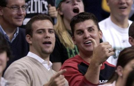 Epstein also courted free-agent closer Keith Foulke in a trip to a Celtics game as he assembled a new cast for the 2004 Red Sox.