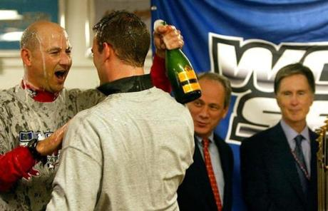 The moves panned out as Epstein and Francona enjoyed champagne showers when the Red Sox closed out a World Series sweep of the Cardinals.