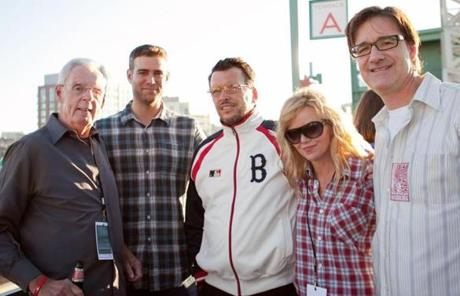"Epstein joined with baseball reporter Peter Gammons, left, and musicians Dicky Barrett, Kay Hanley, and Tim ""Johnny Vegas"" Burton in benefits for his charitable foundation."