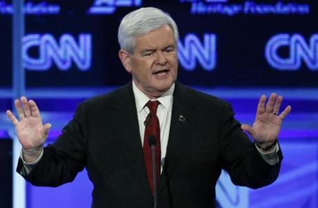 Newt Gingrich may be more known for his oddball retro do.