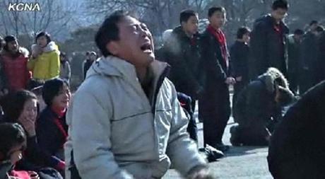 North Koreans mourned the death of Kim Jong Il.