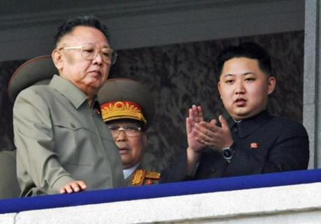 North Korea's mercurial leader Kim Jong Il made clear he wanted to pass on rule to his son Kim Jong Un (right). But there is speculation that the military may create a regent to run the country.
