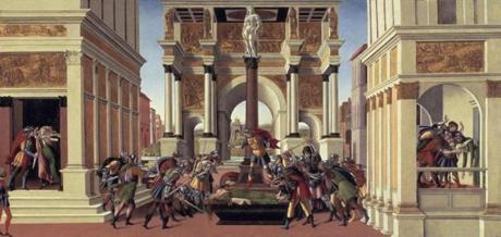 The Tragedy of Lucretia about 1500-1501 Sandro Botticelli, Italian (Florence), 1444/45-1510 15gardnergems