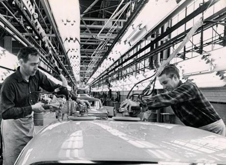 During the height of its productivity, GM's plant in Framingham employed up to 5,000 workers. It closed in 1989.