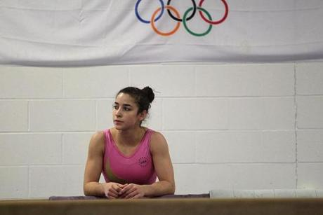 Needham gymnast Alexandra Raisman, 17, is a contender for a spot on the US Olympic team this year.