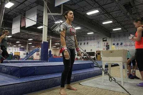 Raisman has a busy upcoming schedule, including the American Cup in Madison Square Garden on March 3, the Pacific Rim championships in Everett, Wash., two weeks later, the nationals in St. Louis in early June and then the Olympic trials.