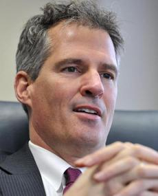 """The ... ads you think are unfair ... criticize you.""  — Scott Brown, Republican seeking reelection."
