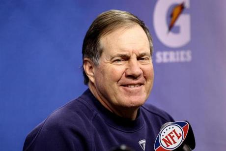 Bill Belichick hopes to join Chuck Noll as the only coaches ever to win four Super Bowls.
