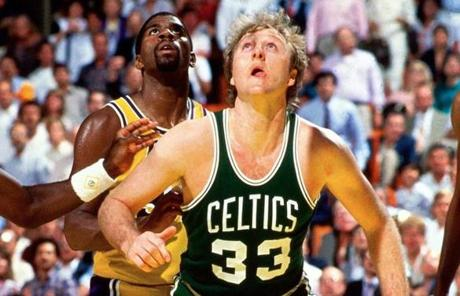 No. 3: Larry Bird, 21,791 points.
