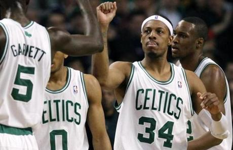 No. 2: Paul Pierce: 21,797 points (as of last night's game).