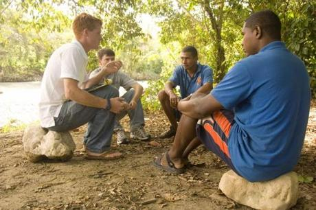 Kennedy spent two years in the Dominican Republic, where he helped to organize an eco-tourism project.