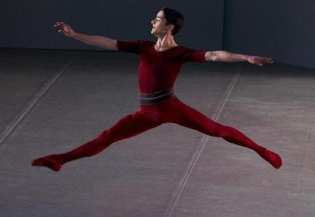 "Spencer Doru Keith leaped in a performance of José Mateo Ballet Theatre's ""Classical Lovers."