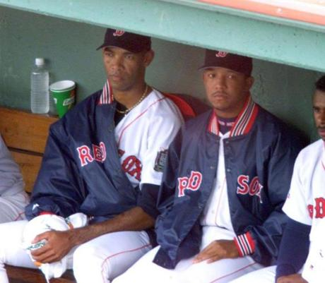 Pedro Martinez's brother, Ramon, left, surrendered just two runs in 5-2/3 innings.
