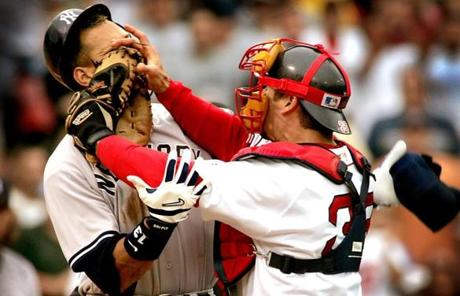 Varitek was a key component on two World Series winners and his punch of Alex Rodriguez on July 24, 2004, helped turned that season around.