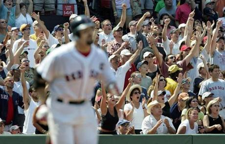 Varitek leaves the Red Sox as the team record holder in postseason game appearances.