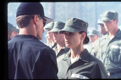 "Master Chief John Rugayle in ""G.I. Jane."""