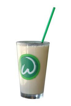 Mudslide shake at Wahlburgers in Hingham.