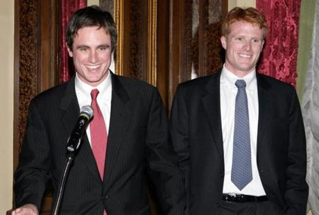 While Joe branched out after graduating and worked in the Peace Corps in the Dominican Republic for two years, he joined his brother as campaign manager of Ted Kennedy's reelection campaign in the spring of 2006